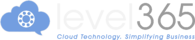 Level365 Logo Update_For Black Background